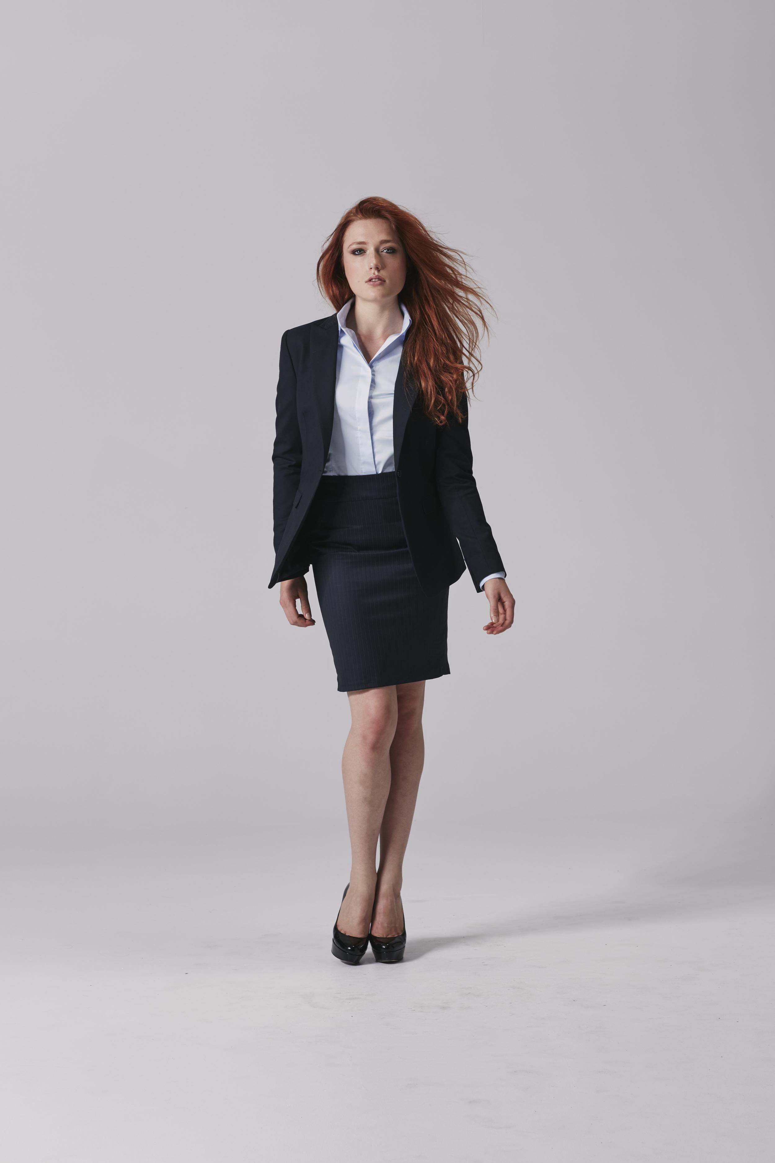 Ladies navy skirt suit Ladies business skirt.jpg