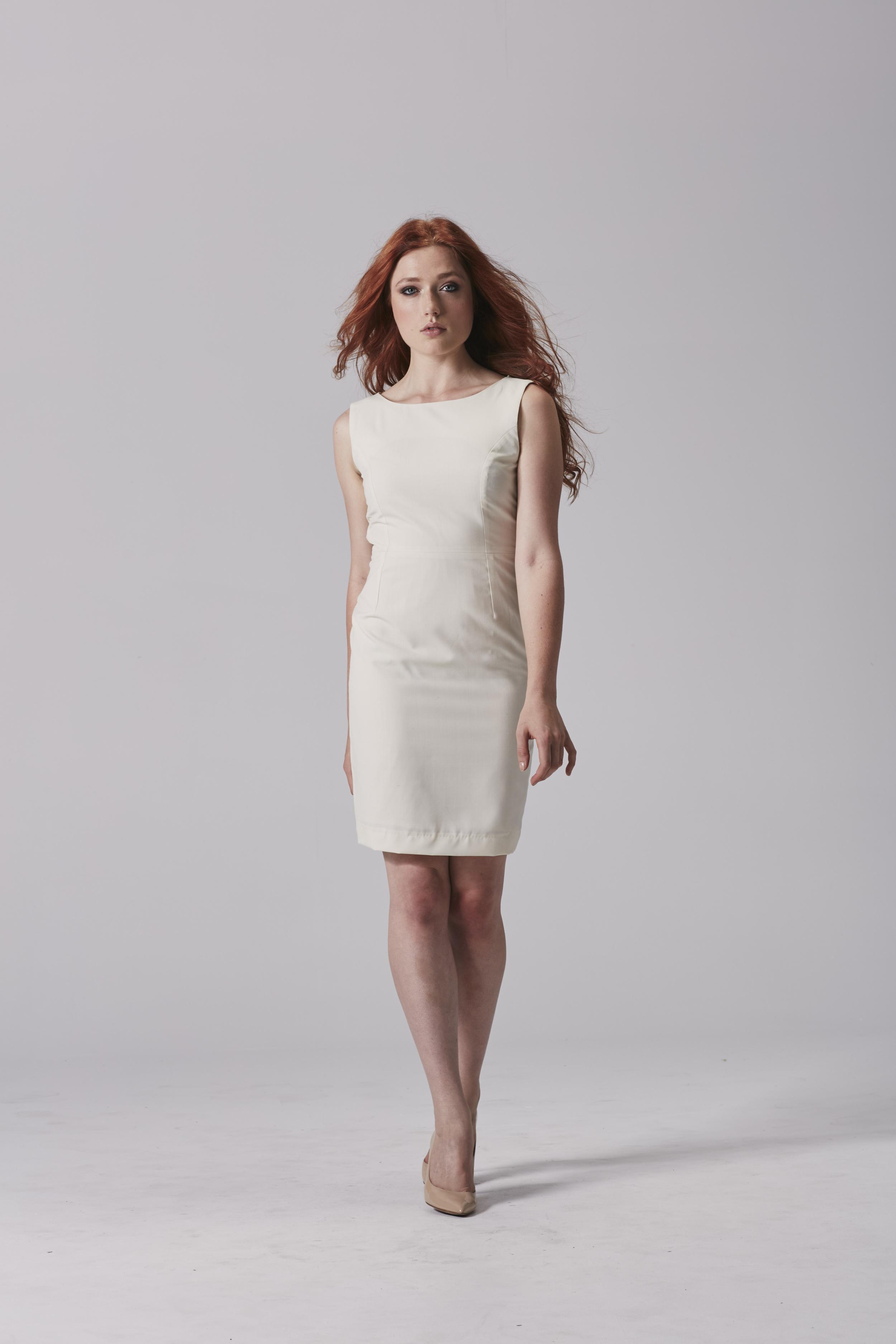 Womens white business dress.jpg