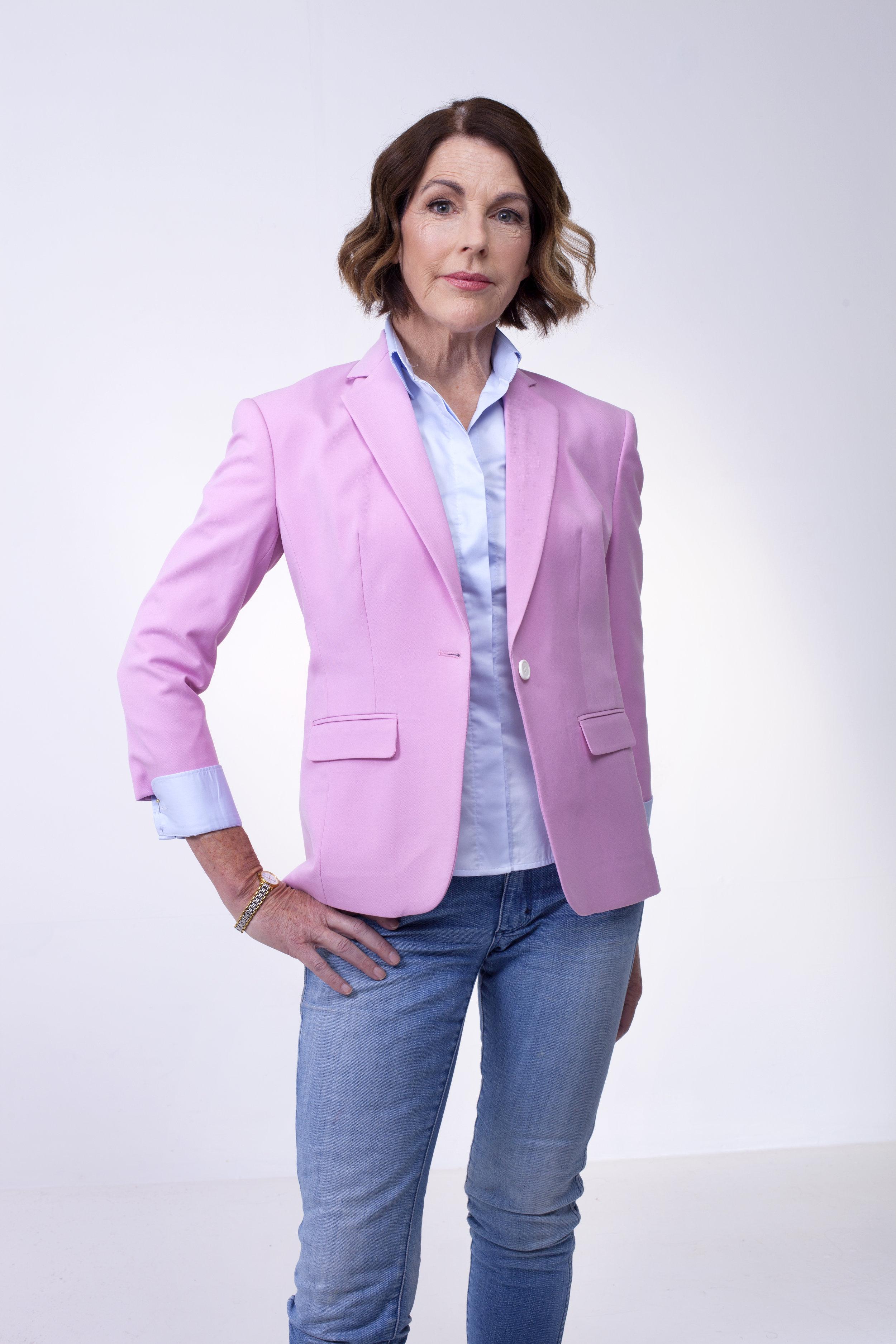 Womens Casual Three quarter sleeve jacket  (2).jpg