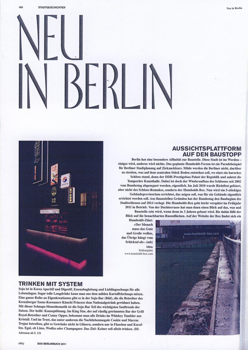 Das Berlin Buch Zitty Spezial 2010-2011