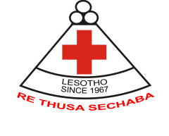 Lesotho Red Cross logo