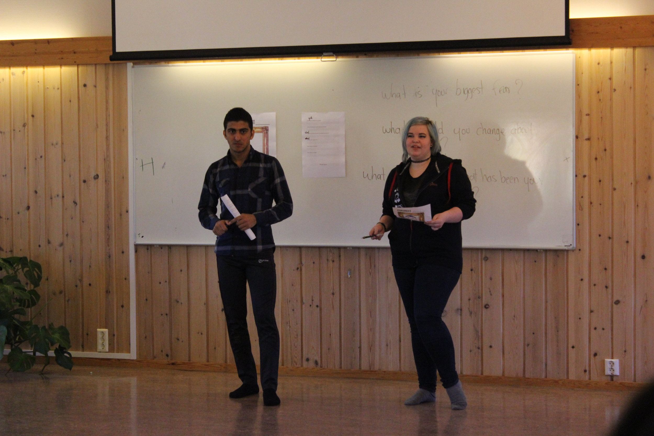 Portrett Presentation.