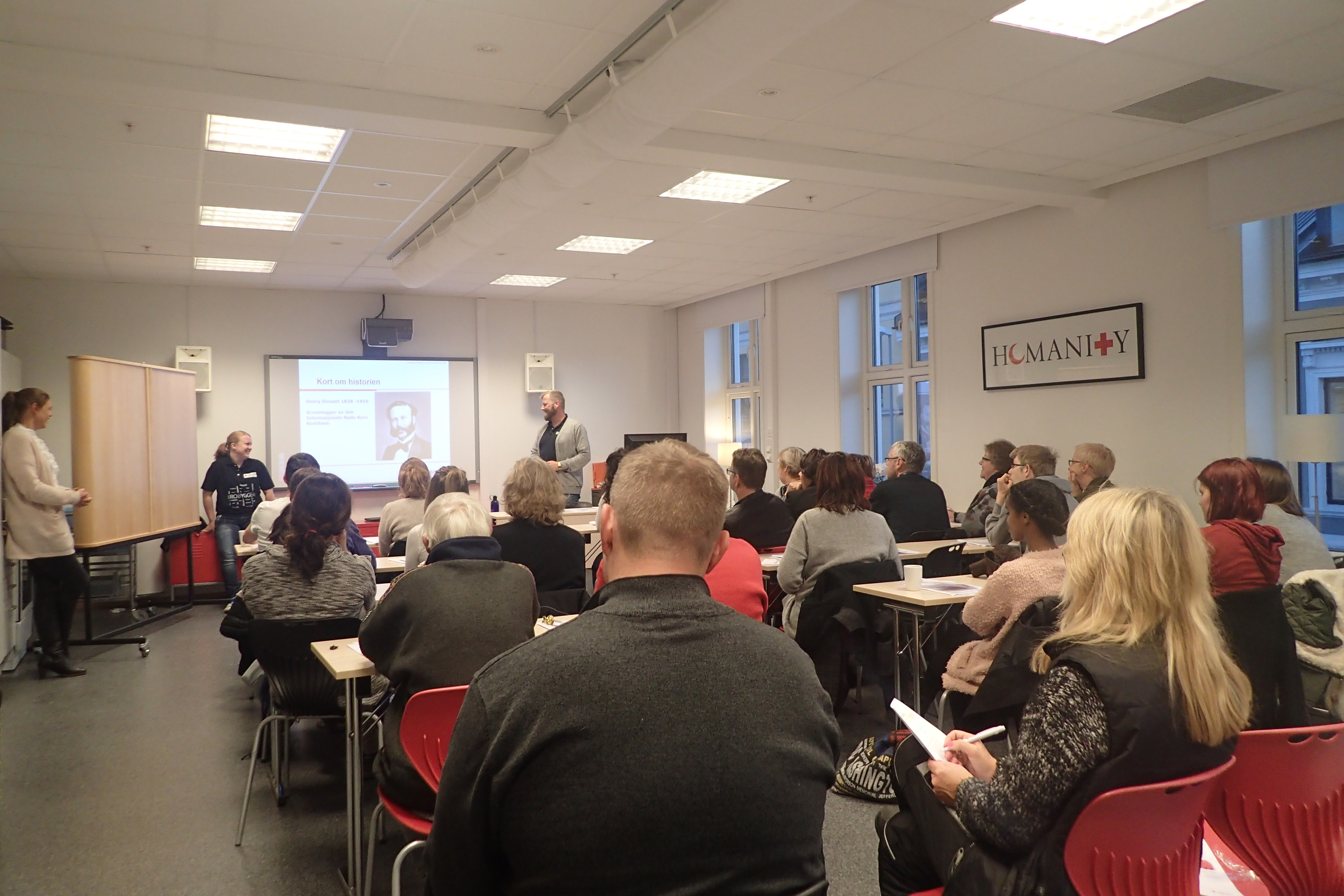 Information evening on Norwegian Red Cross.