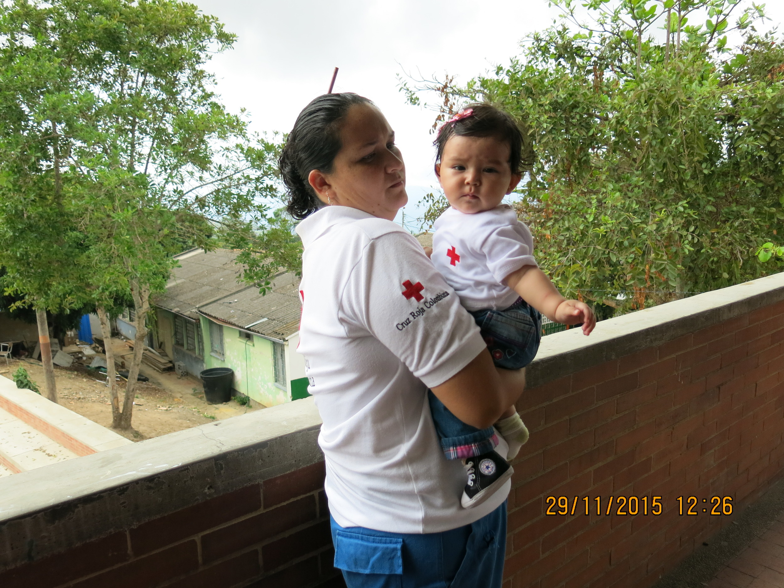 Bebé Cruz Rojista / Red Cross baby