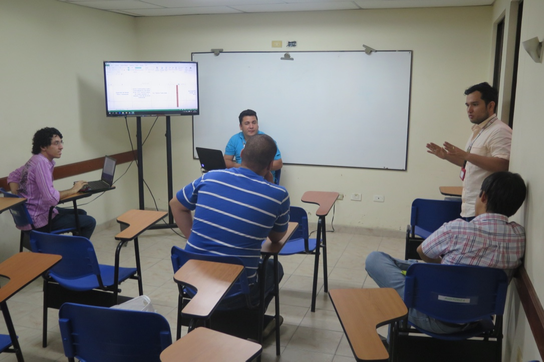 Meeting with the coordinators.