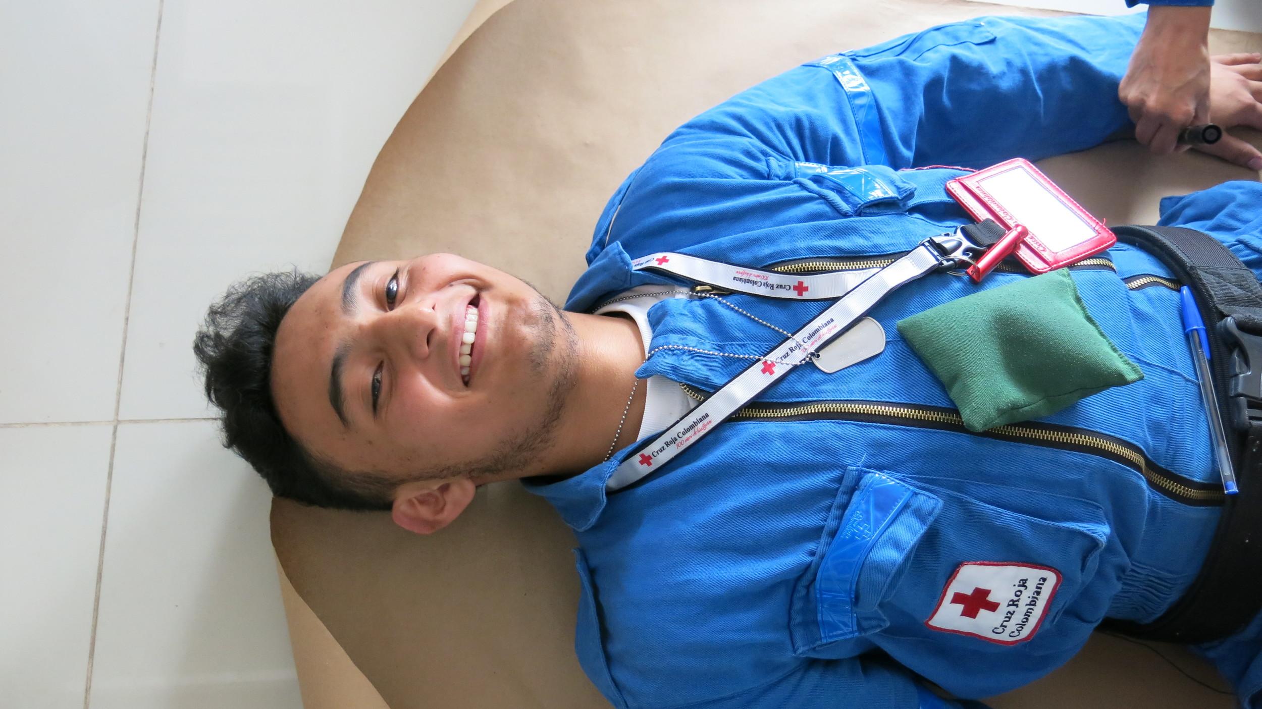 Sebastian, voluntario juvenil, Zipa