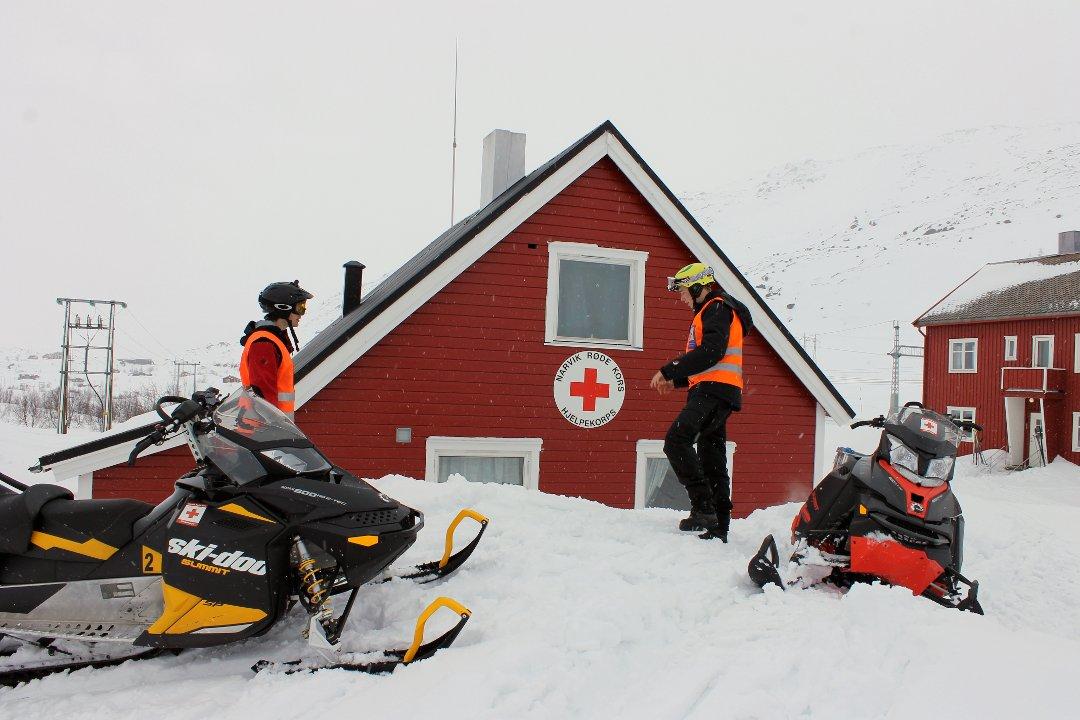Norwegian Red Cross in action