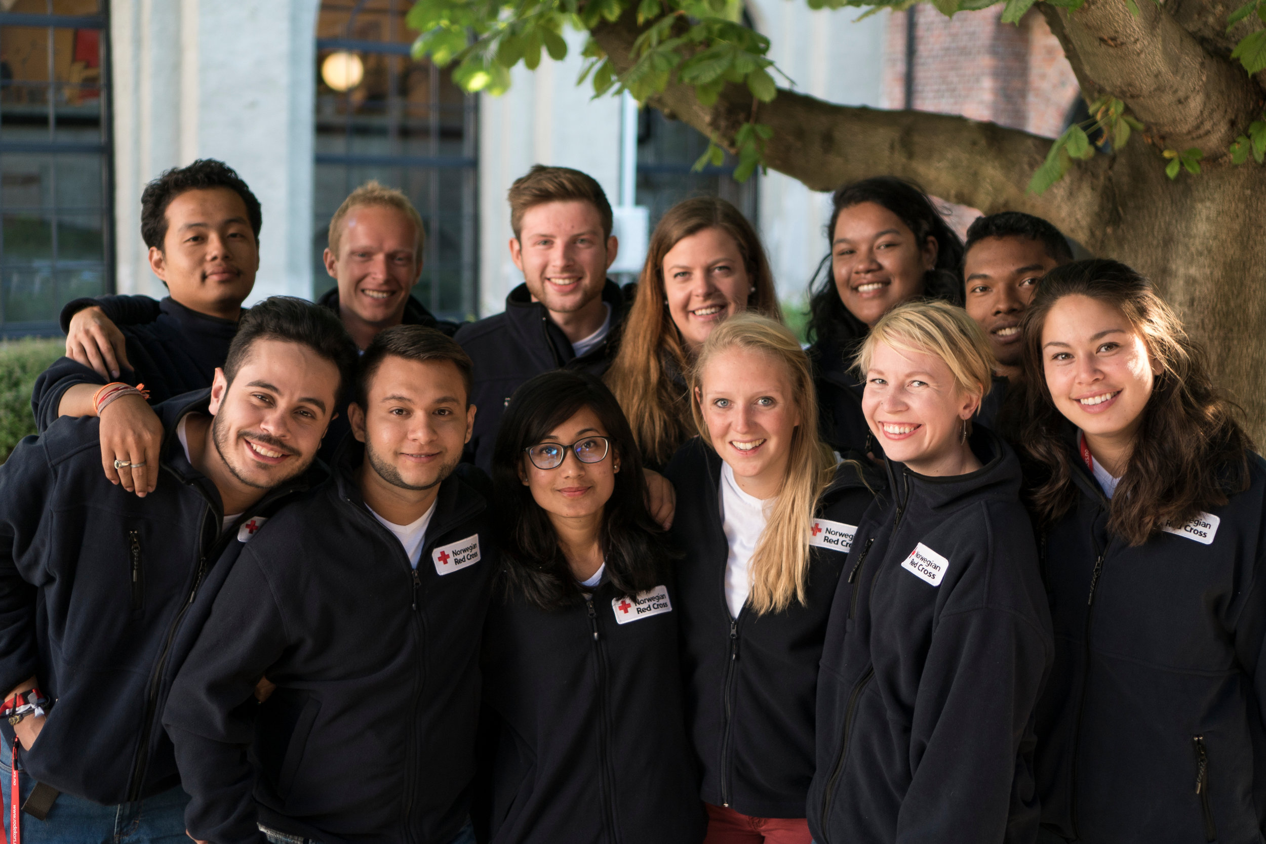 The Youth Delegates 2016-2017. Photo: Olav A. Saltbones, Red Cross