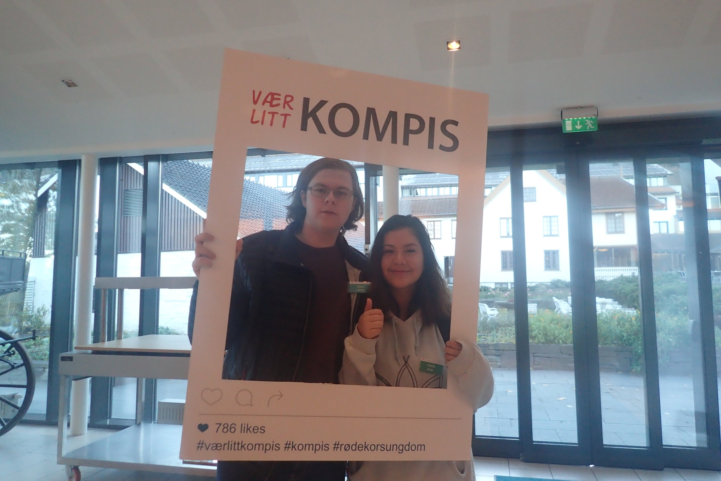 Værelitt Kompis, the youth campaign for the year 2016/17.