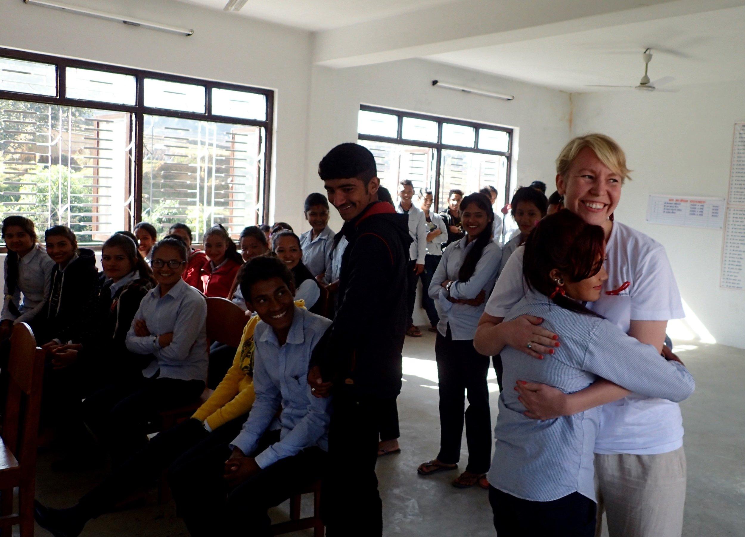 Breaking Stigma Through a Hug
