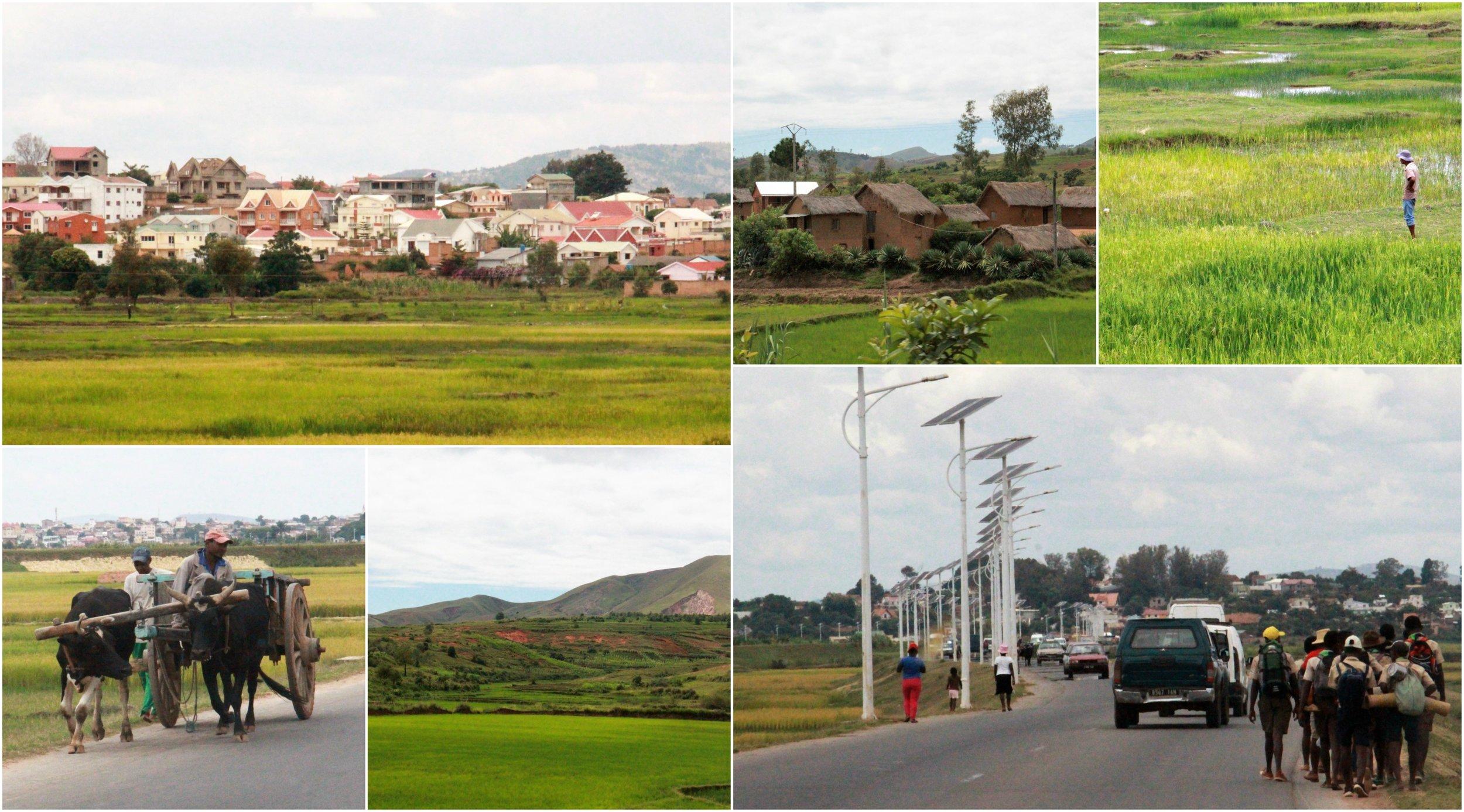 On the way from Ampefy to Antananarivo