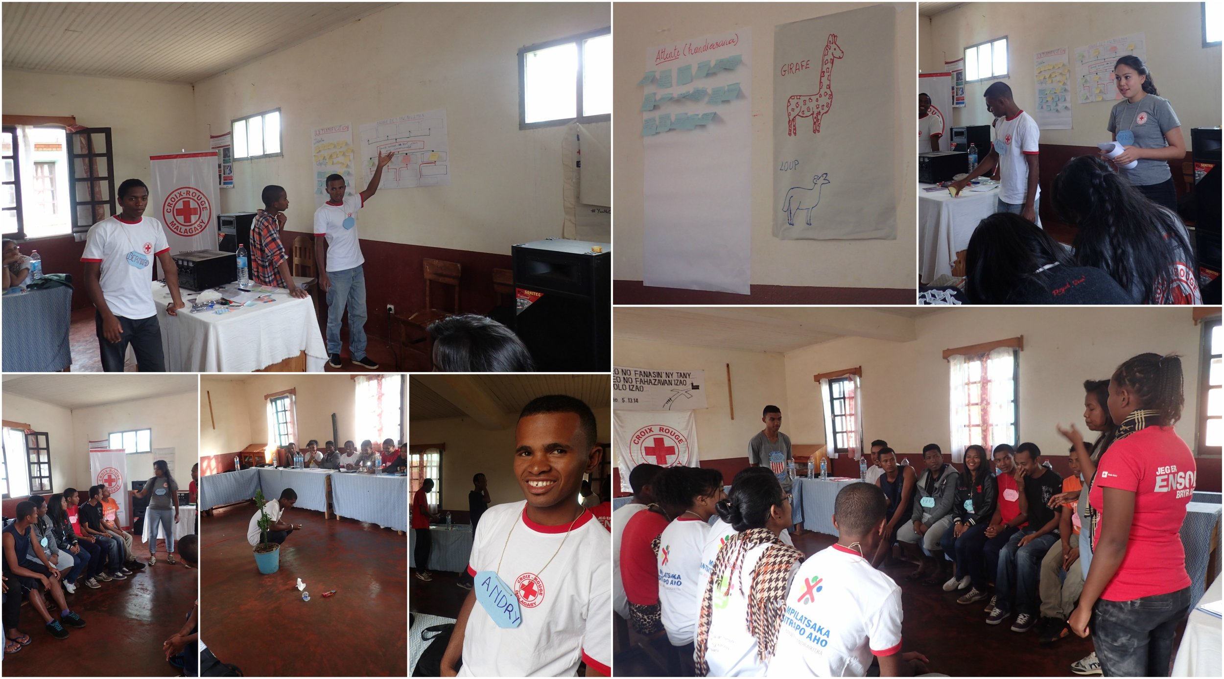 The participants were eager to learn from each other through sessions about non-violent communication and problem analysis and presentations of their Red Cross youth activities,