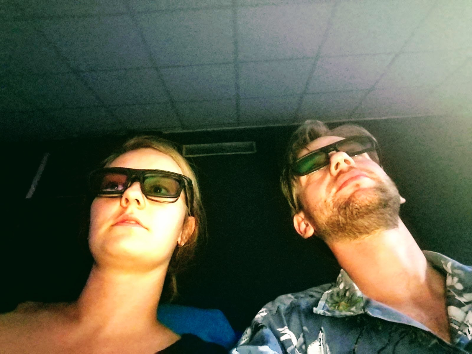 3D movies are cool.