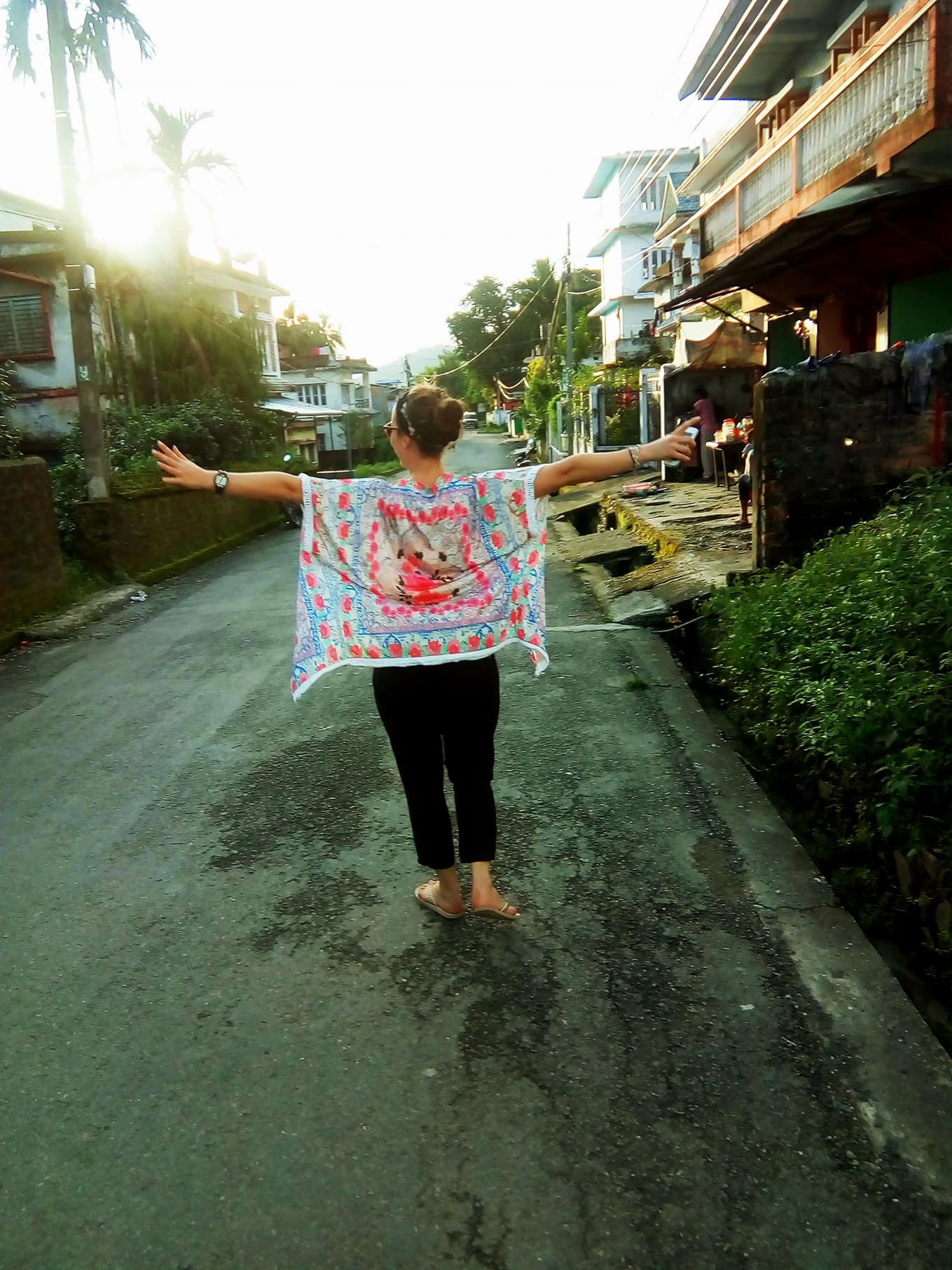 Strolling around in the streets of Dharan