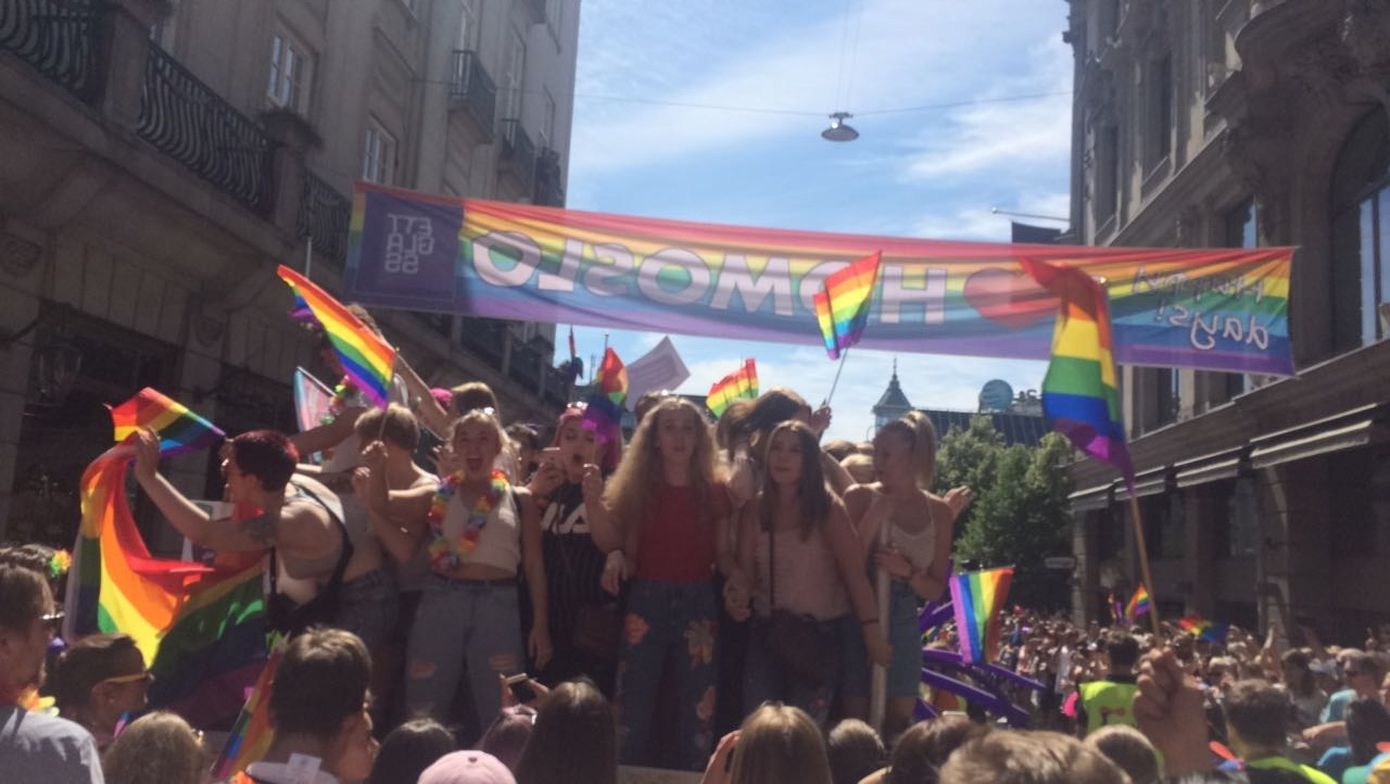 Photos taken at Oslo Pride (Private)