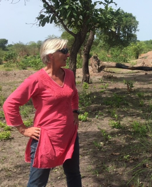 Anne Kirsti during her last trip in to South Sudan, May 2018.