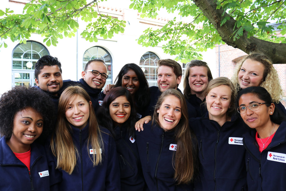 The Youth Delegates 2017-2018. Photo: Sverre Ø. Eikill, Red Cross