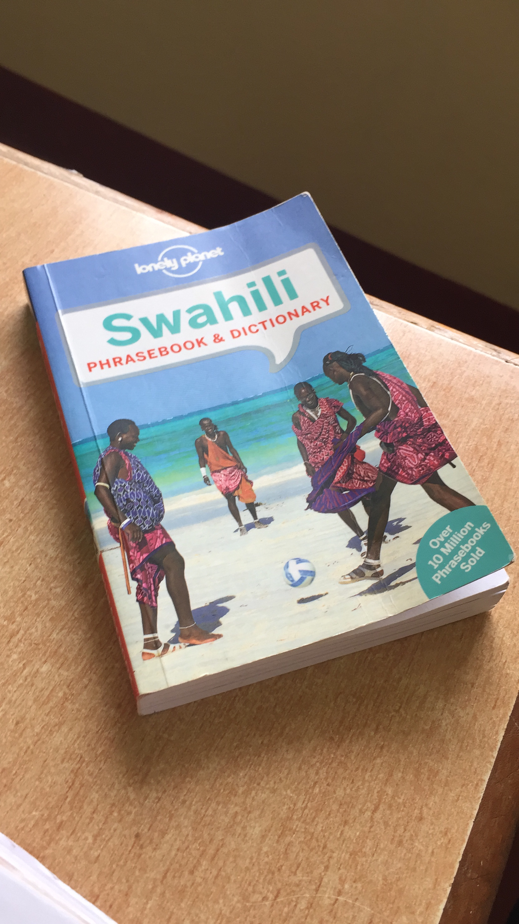 We have a goal of learning a little (kidogo) Swahili each day. We often do this in the evening.