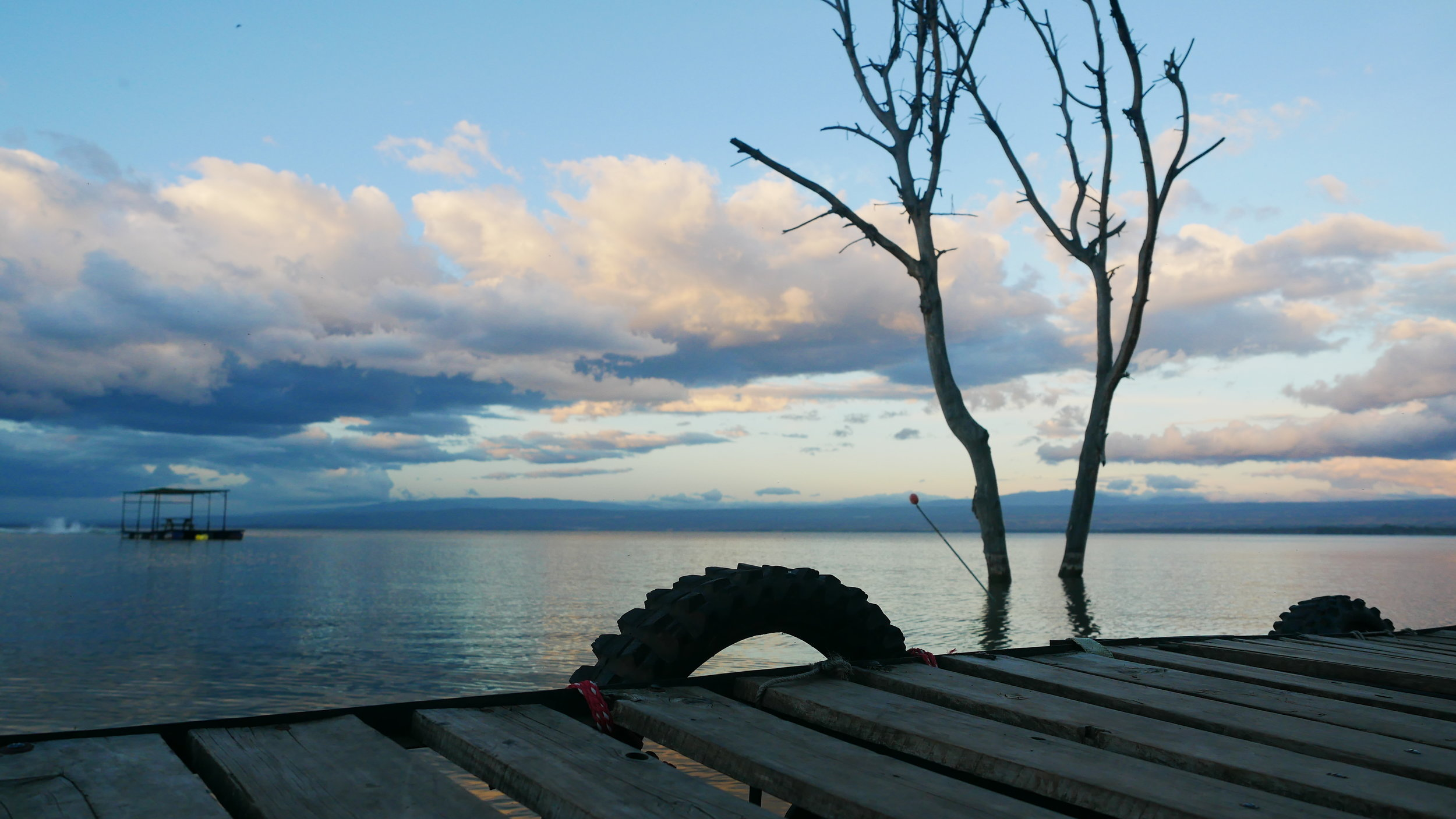 Lake Naivasha. Photo: Elfi Thrane Bemelmans.