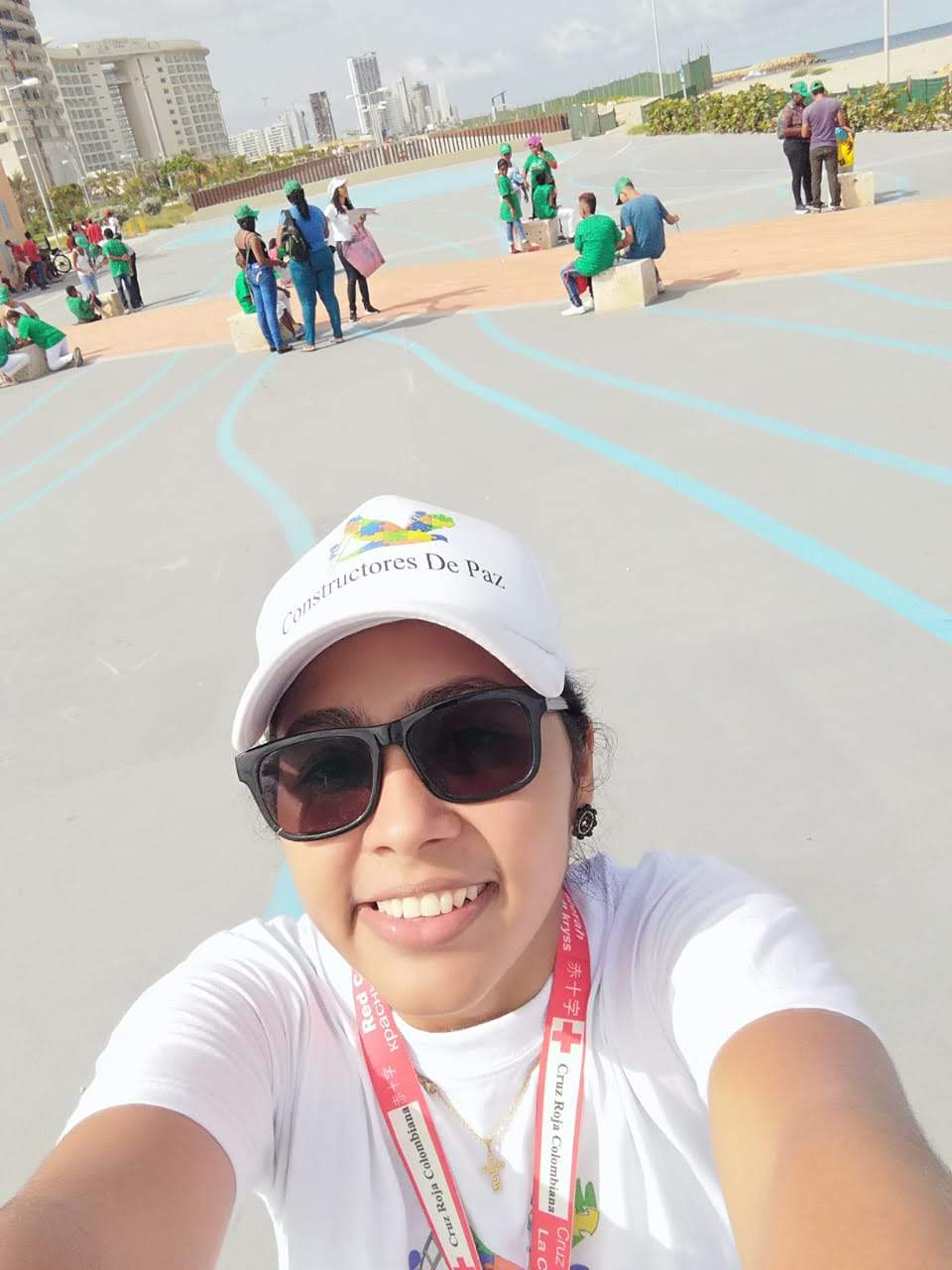 - The Coordinator for constructors for peace Claudia Rivera Cisnero have written a text about an activity her project had last saturday.