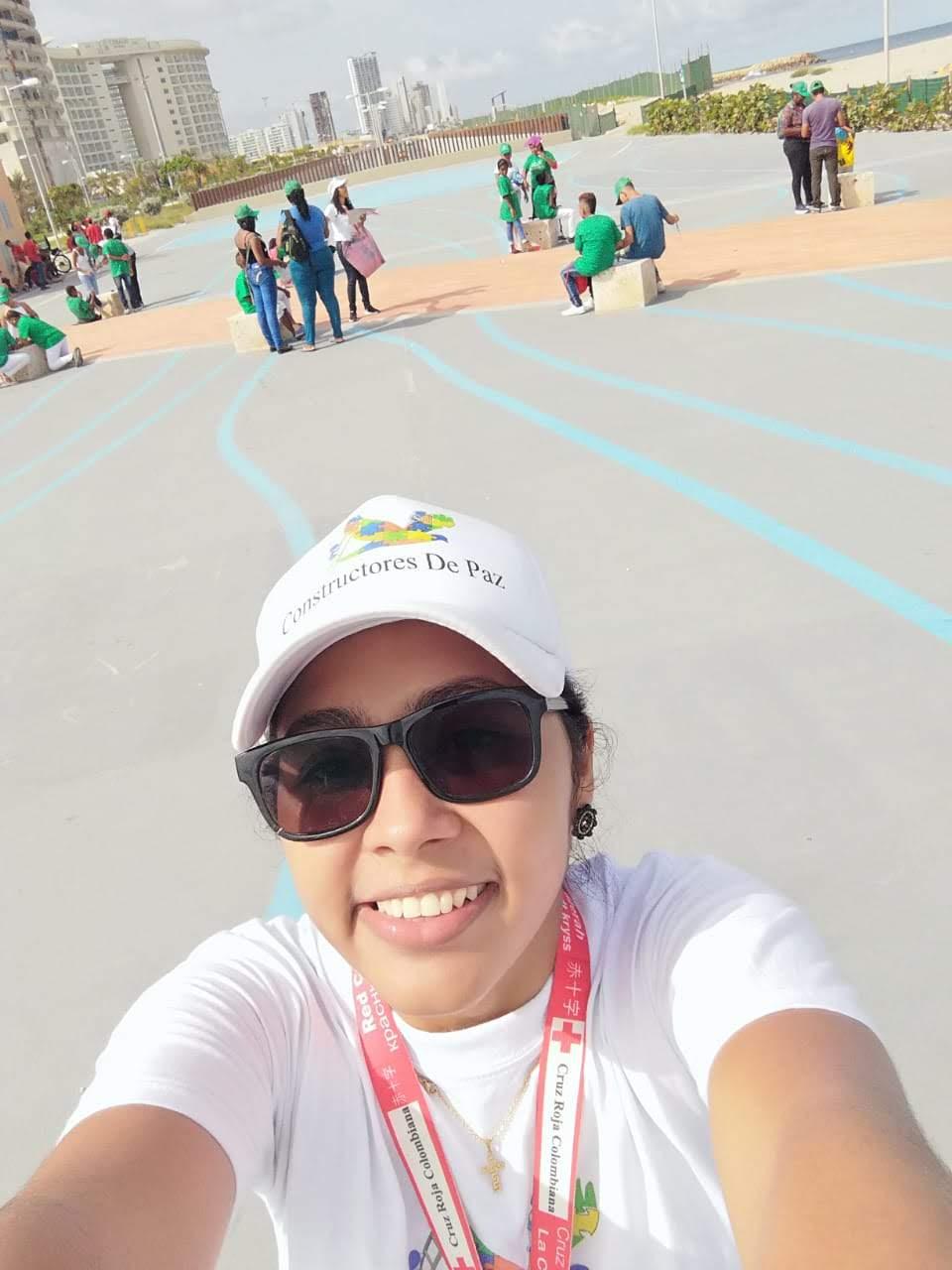 - La coordinadora del proyecto Constructores de Paz y Reconciliación Claudia Rivera Cisnero ha escribiendo sobre una actividad con este proyect en el sabado pasado.