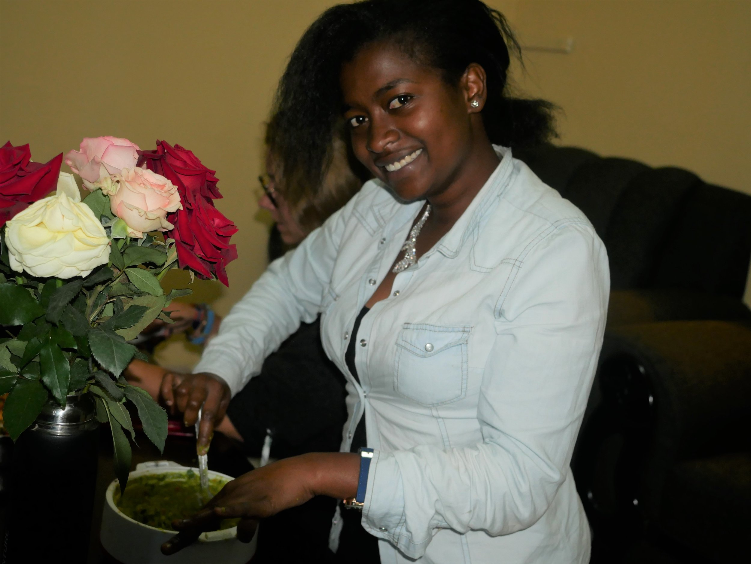 BYC member Winnie Kamau. Photo: Elfi Thrane Bemelmans.