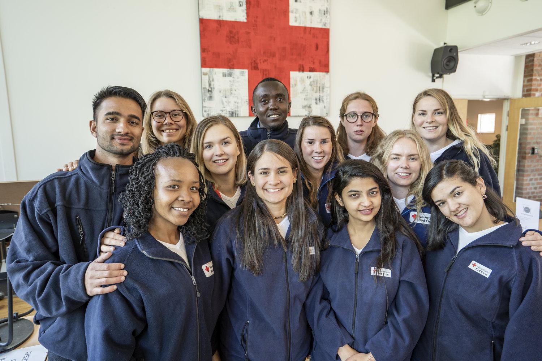 Youth Delegates 2018/19.  Photo: Olav A. Saltbones/Røde Kors
