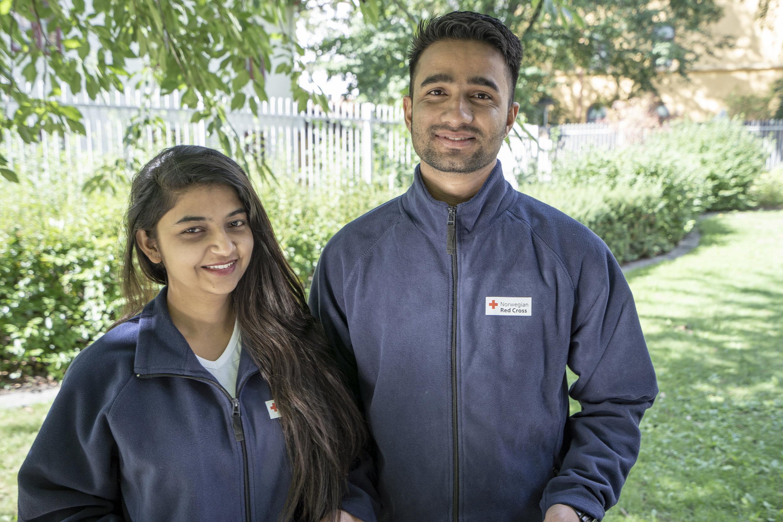 Saseena and Nishan from Nepal to Baerum