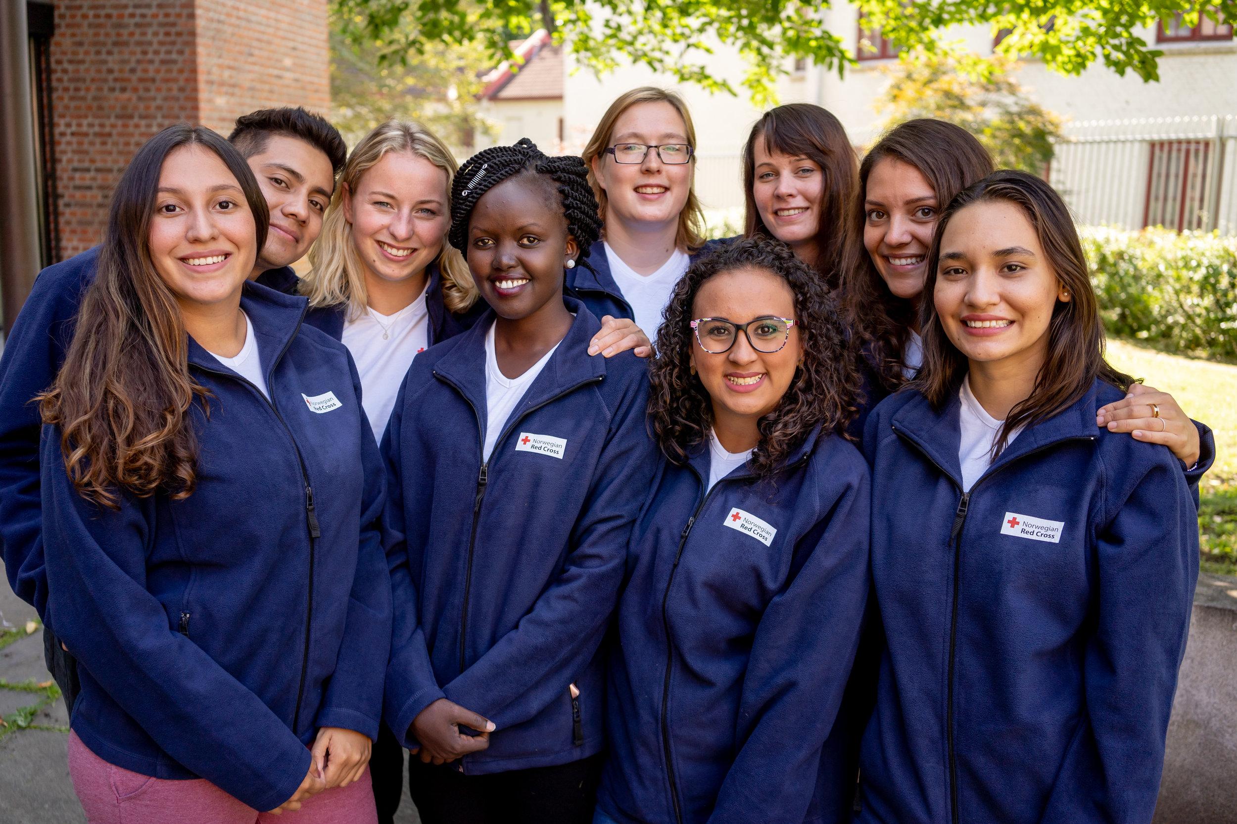 The Youth Delegates 2019 - 2020. Photo: Olav A. Saltbones