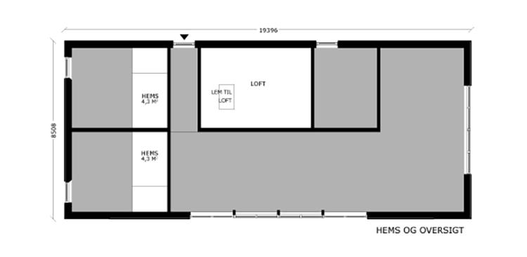 oneroom one 165 m2 loft