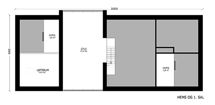 oneroom one 200 m2 loft