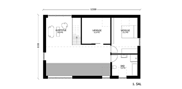 oneroom compact 175 m2 loft