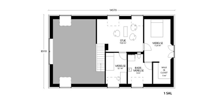 oneroom compact 195 m2 loft
