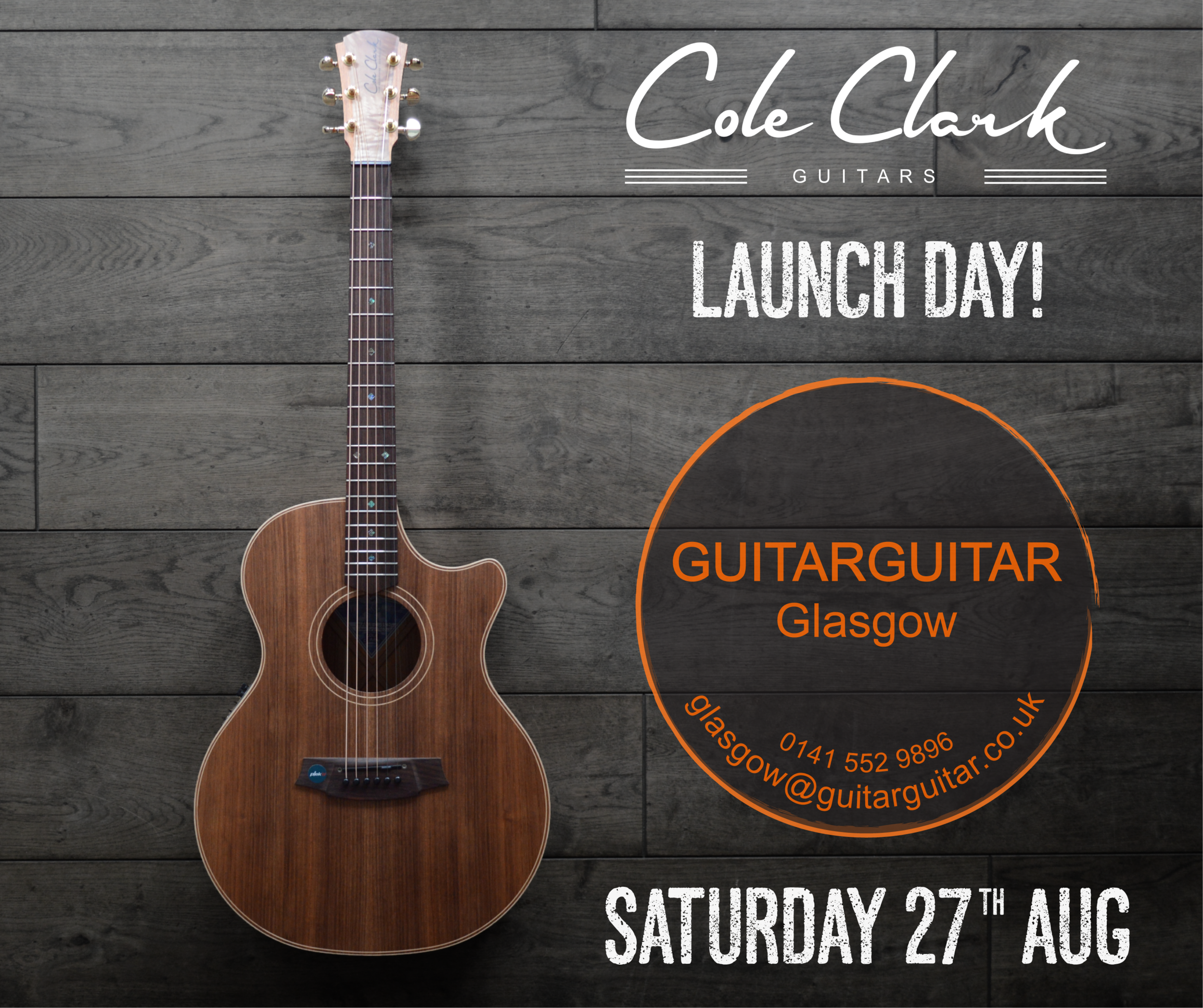 GuitarGuitar Glasgow Launch Day
