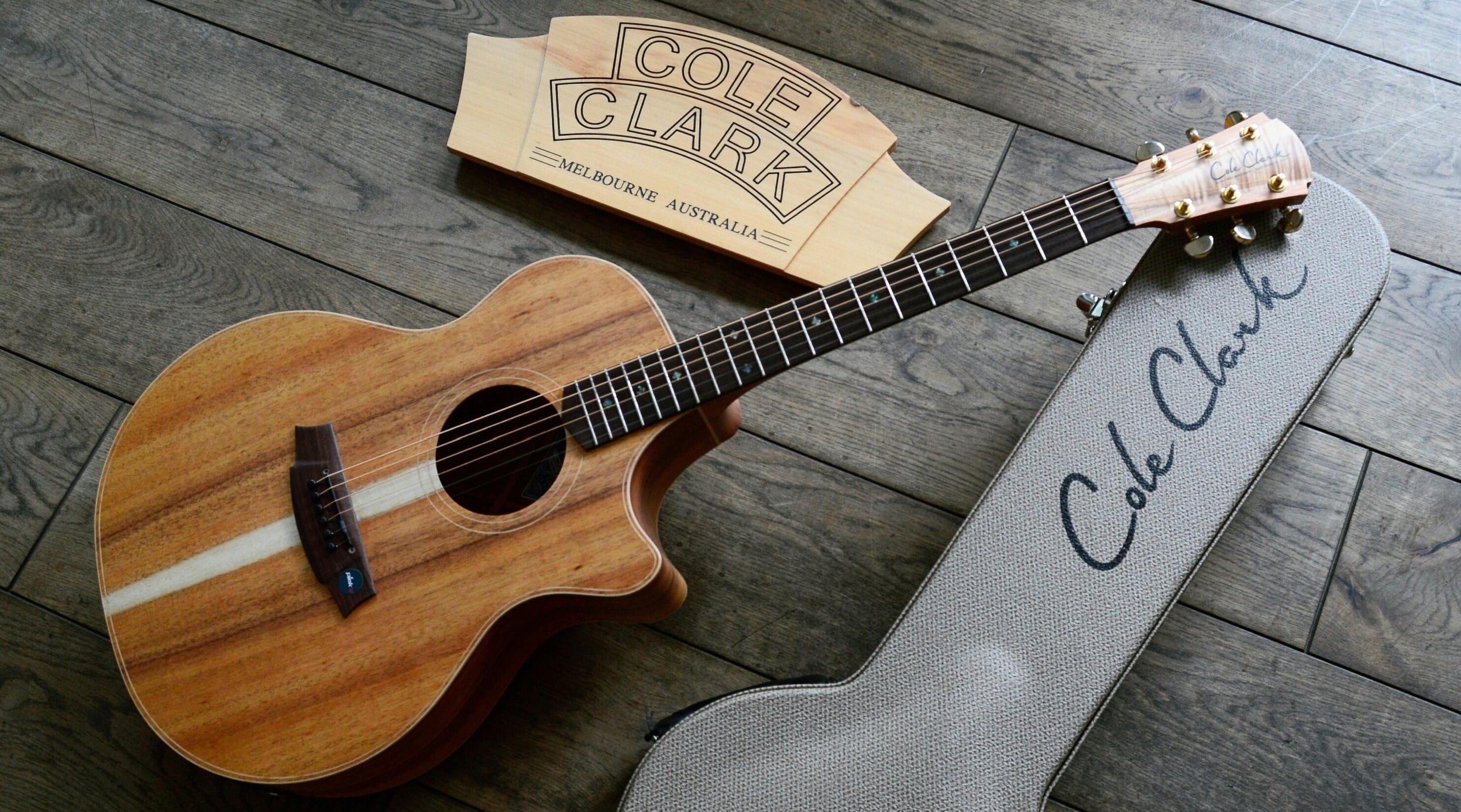 Cole Clark Angel 2 Blackwood Blackwood AN2EC-BLBL