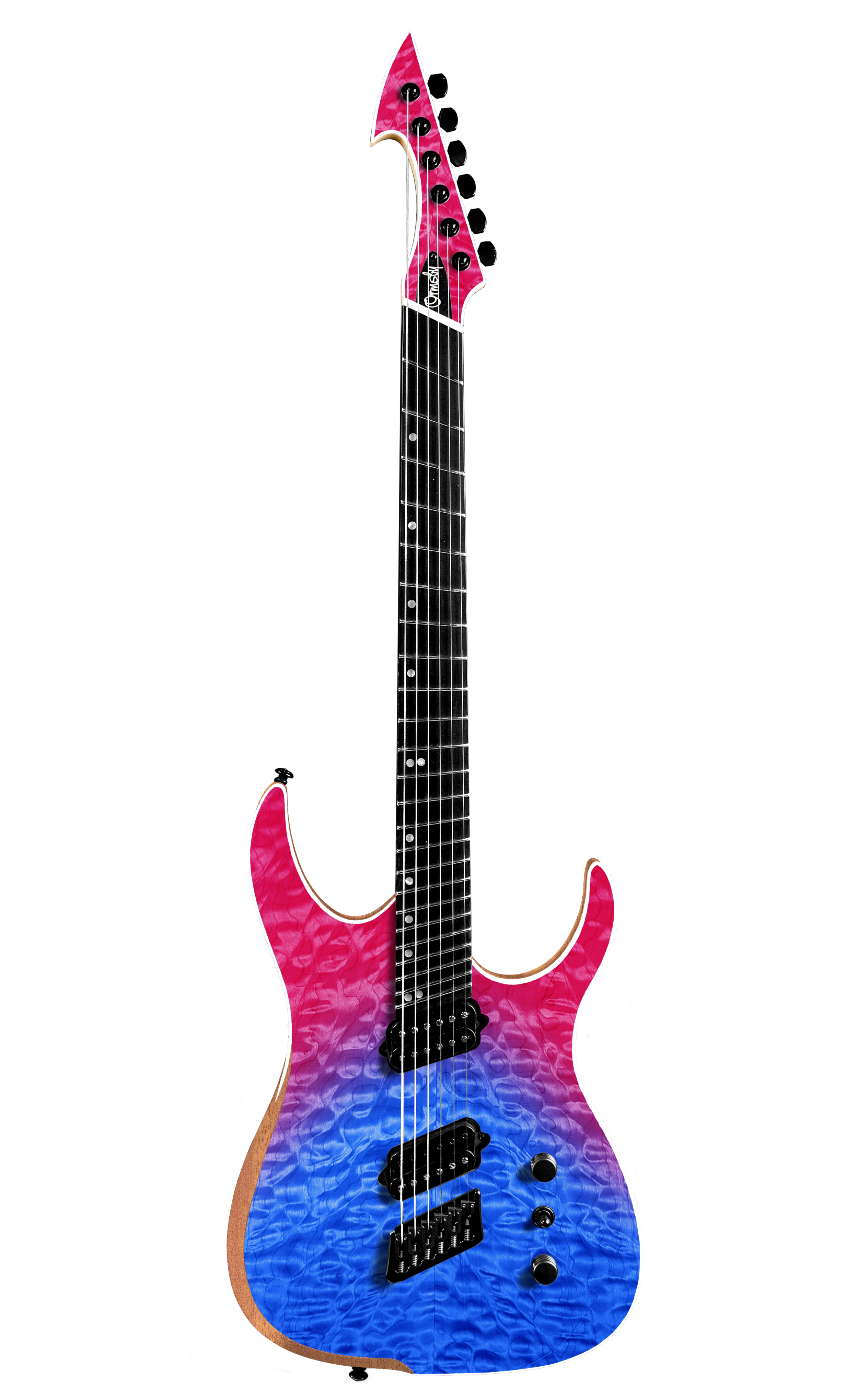 Hype GTR MULTISCALE Quilt Top Dragonburst (6, 7 & 8 String)