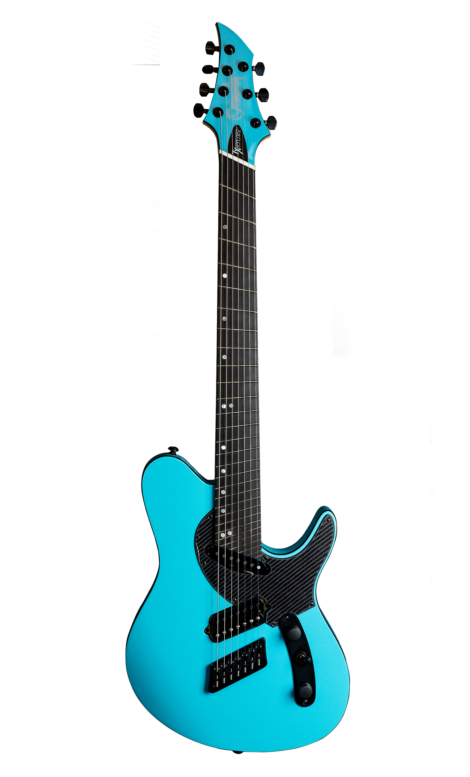 TX GTR Carbon MULTISCALE - Azure Blue (6, 7 & 8 String)