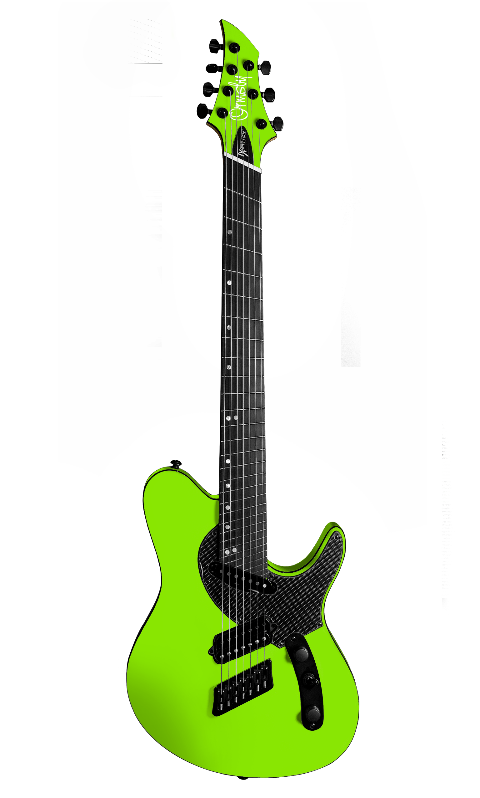 TX GTR Carbon MULTISCALE - Toxic (6, 7 & 8 String)