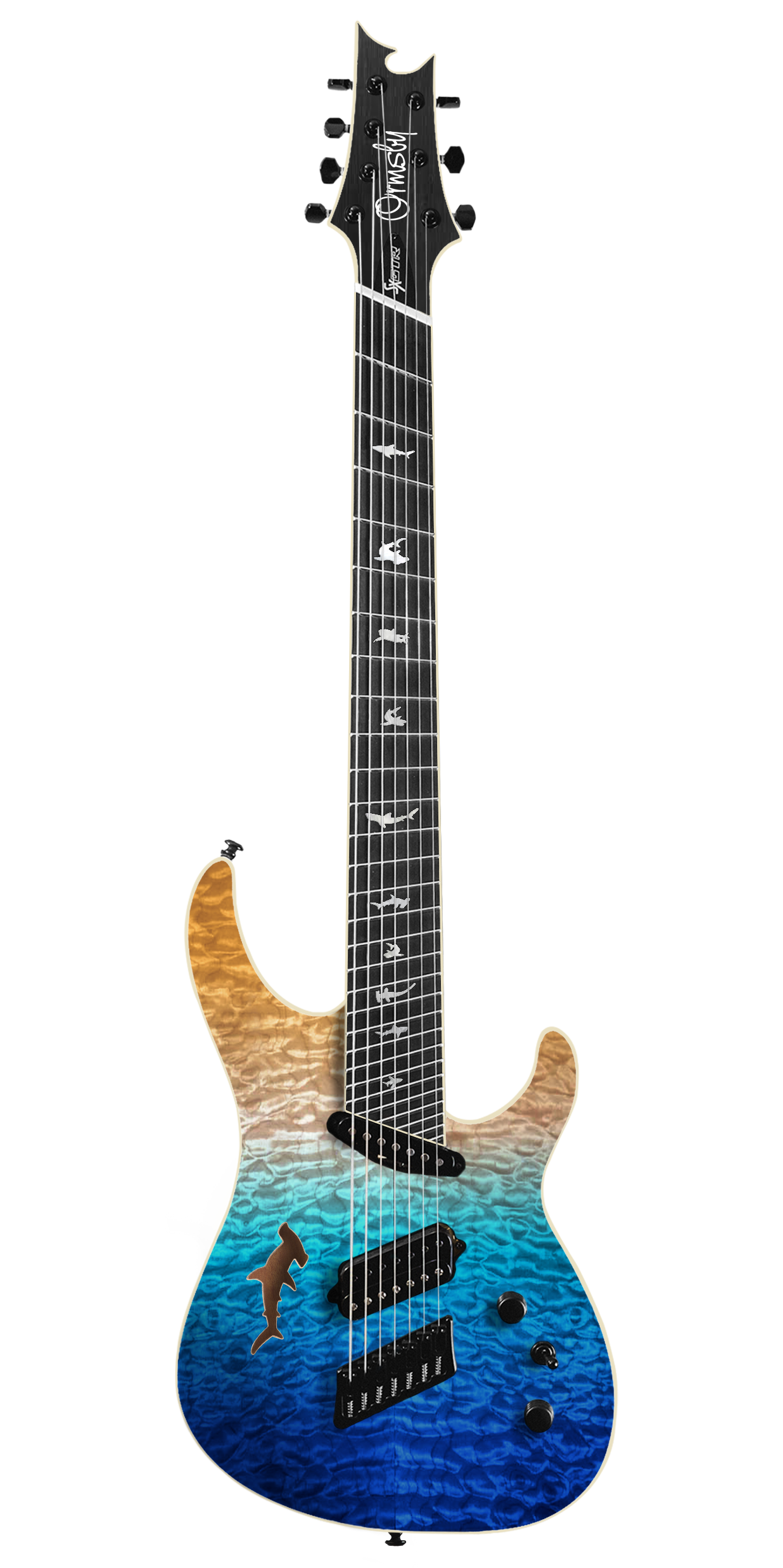 SX Shark GTR Limited Edition 2017 - Ocean Dream (6, 7 & 8 String)