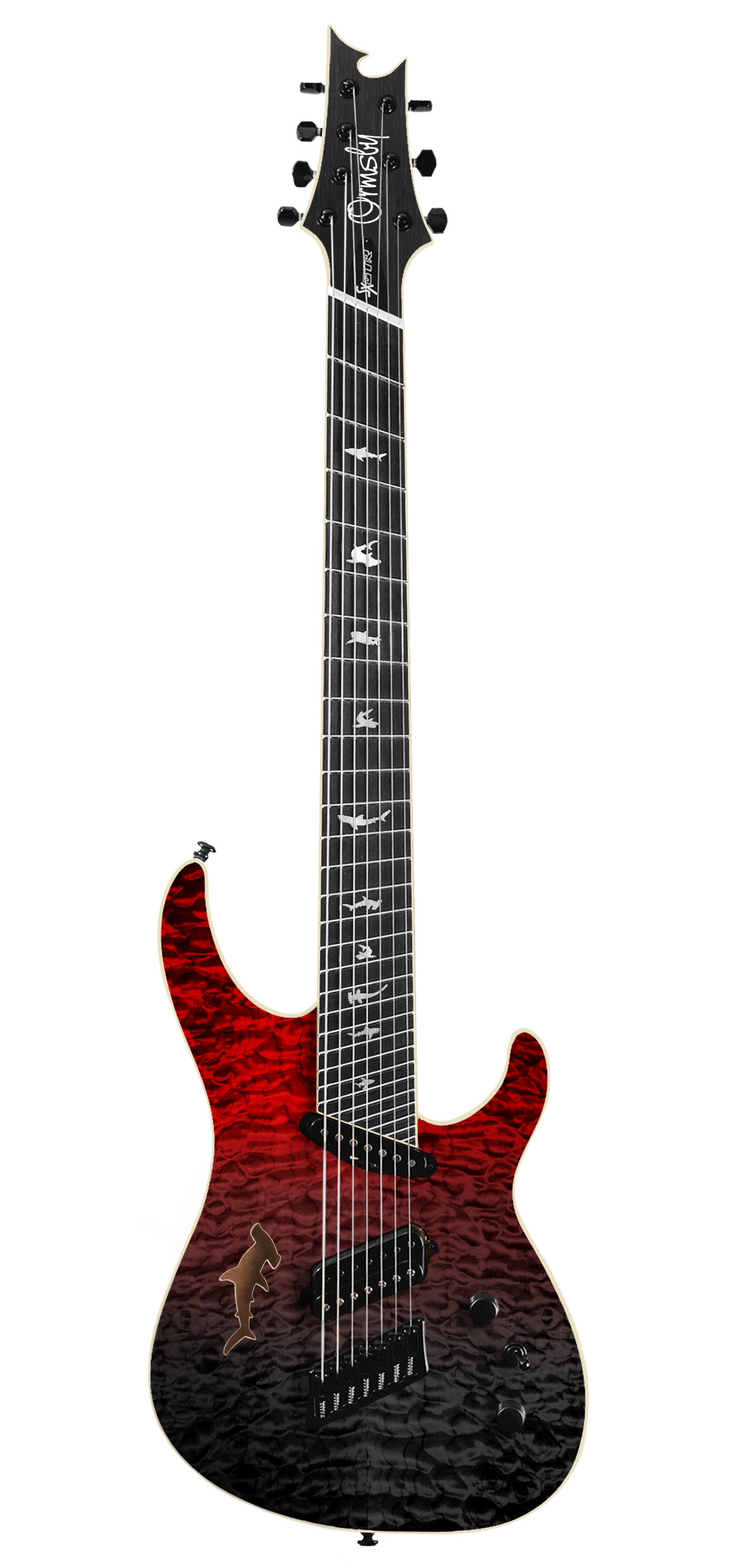 SX Shark GTR Limited Edition 2017 - Blood Bath (6, 7 & 8 String)