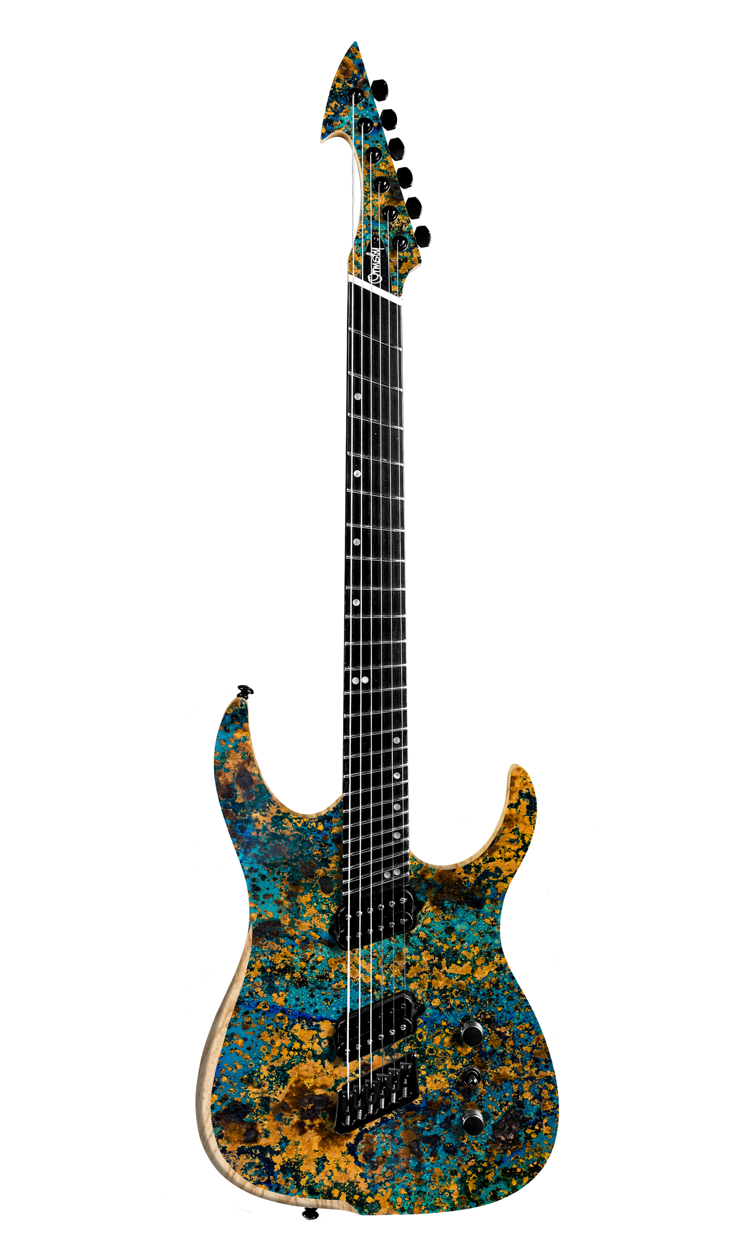 Aged Blue Copper Graphic HYPE GTR