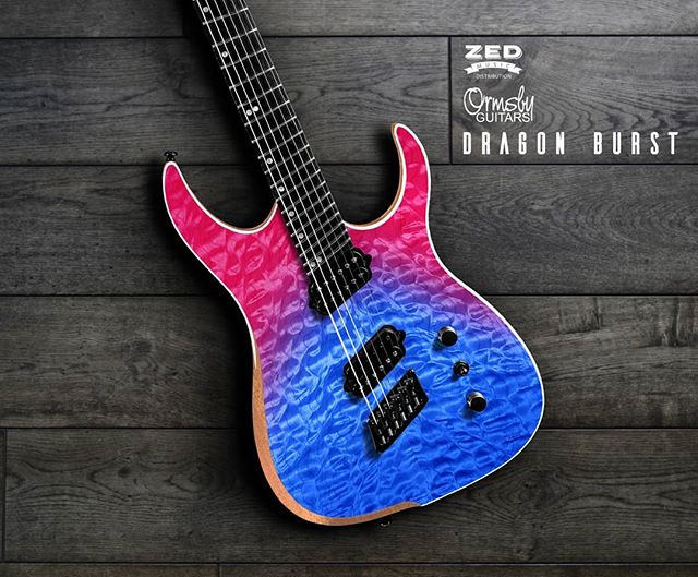 Ormsby RUN 5 guitars and bases will be landing very soon!! #excited  This is the DRAGON BURST! :) #dragon  #hype #metal #ormsby #ormsbyguitars #preorder #uk #london #england #wow  Contact us here at Zed Music Distribution on Instagram, Facebook or Twitter for more information.  www.zedmusicdistribution.co.uk  Photo and copyright owned by Zed Music Distribution.  #guitar #electric #electricguitar #guitarist #musicphotography #guitarsdaily #photooftheday #photo #guitarphotography #ギター #gitar