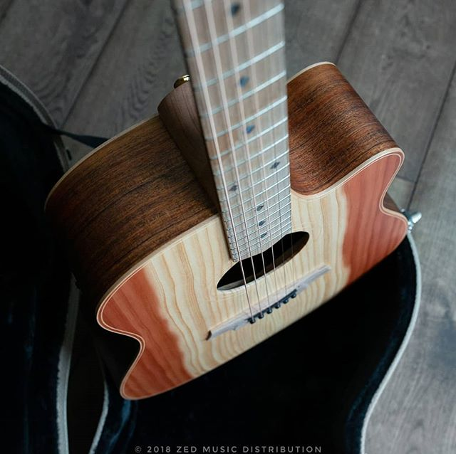 A close up of the River Sheoak finger board on this dreadnaught Redwood Blackwood!  #big #bold #dreadnaught  Contact us here at ColeClarkUK to find out more and get in touch with Zed Music Distribution to find your nearest Cole Clark dealer and get your hands on one!  Photo and Copyright owned by Zed Music Distribution.  #coleclark #coleclarkguitars #redwood #california  #oneofakind #rare #monday #mondaymotivation #mondays #worldsmostnaturalpickup  #acousticguitar #acousticaguitar #acoustic #guitars #guitarist #guitar #guitarsdaily #zedmusicdistribution #martin #taylor #fender #gibson