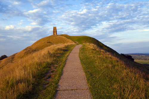 Glastonbury Tor , one of the country's most spiritual sites and a beautiful place to walk and unwind.