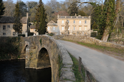 Iford Manor  is within walking distance of the cottage with stunning Italianate gardens and  arts festivals .