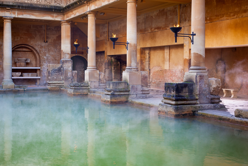 Roman Baths .Over 1m people a year visit this, one of the best preserved Roman remains in the world.