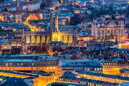 Bath Abbey  - a place of worship in the heart of the City, for over a thousand years hosting some incredible  events .