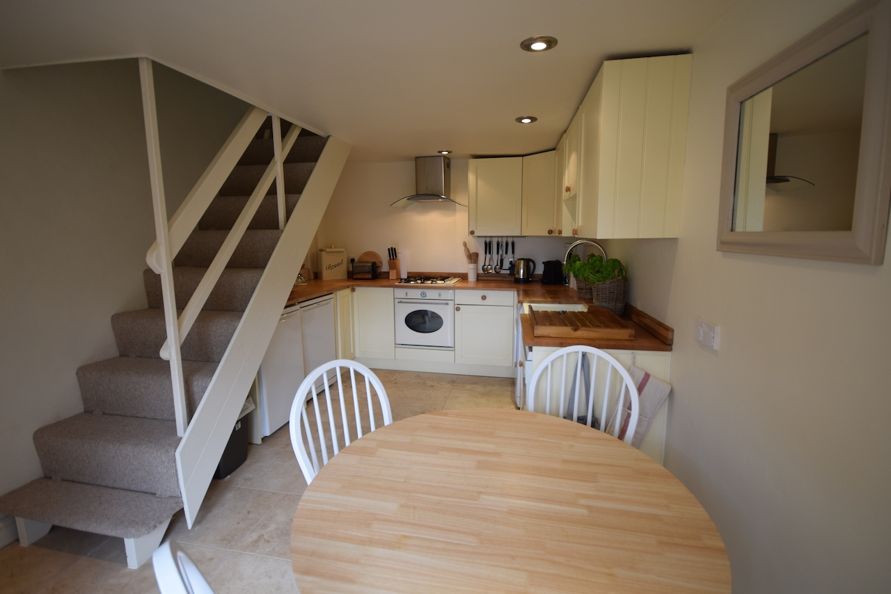 Holiday Cottage Freshford, self catering kitchen, White Hart Cottage.JPG