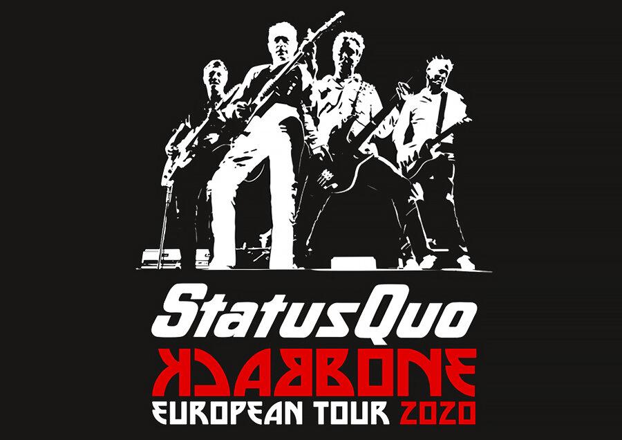 STATUS QUO - Backbone European Tour 2020