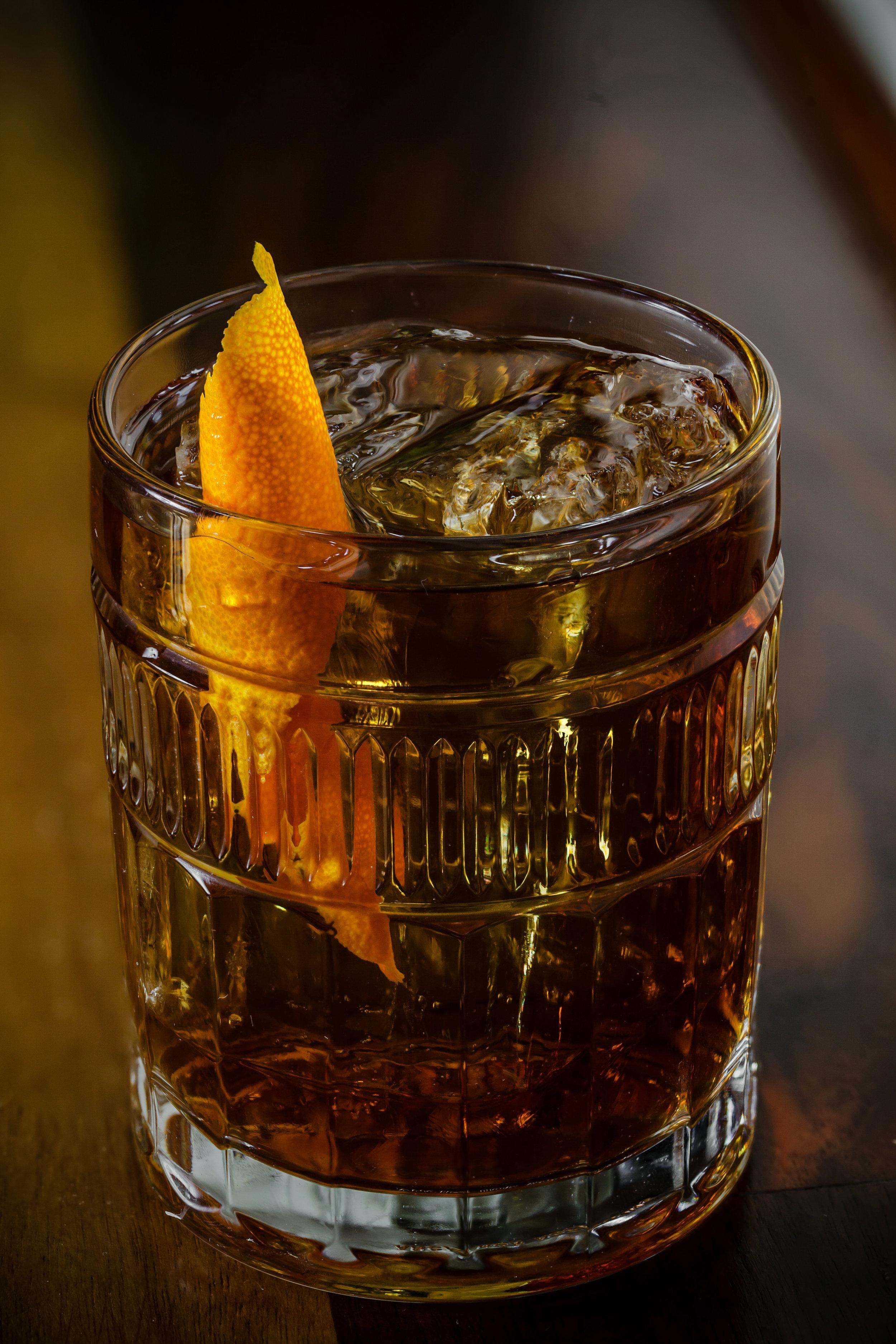 Orange Artichoke, a stirred original.  (Photo courtesy of Tom McGovern)